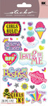 Musical Gals Sticko Stickers - EK Success