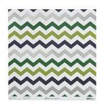 Green Foil Zig Zag Paper - Gabbie - Anna Griffin