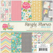 Vintage Bliss 6 x 6 Paper Pad - Simple Stories