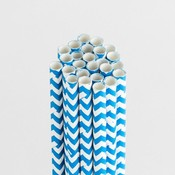 Blueberry Bliss Chevron Stylish Stix - Queen & Co