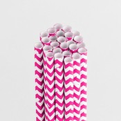 Cotton Candy Chevron Stylish Stix - Queen & Co