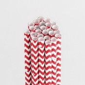 Cherry Bomb Chevron Stylish Stix - Queen & Co