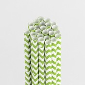 Kiwi Kiss Chevron Stylish Stix - Queen & Co