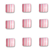 Cotton Candy Square Candy Stripers - Queen & Co