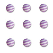 Grape Ape Round Candy Stripers - Queen & Co