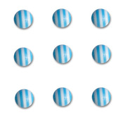 Blueberry Bliss Round Candy Stripers - Queen & Co
