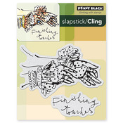 Finishing Touches Cling Stamp - Penny Black