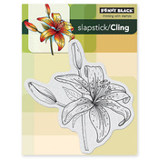 Tiger Lily Cling Stamp - Penny Black