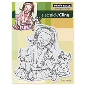 Giggles Cling Stamp - Penny Black