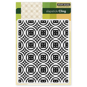 Roman Surround Cling Stamp - Penny Black