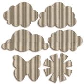Sunshine Corrugated Shapes - Jillibean Soup