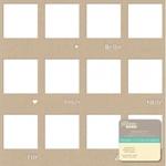 Kraft Frames Die - cut Cardstock Placemat - Jillibean