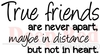 True Friends Rubber Stamp - Deep Red Stamps