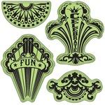 Fun Circus Party Cling Stamps - Stamping Gear - Inkadinkado