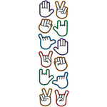 Hands Label Stickers - Sticko