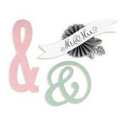 Ampersands & Banner Sizzlets Die - Brenda Walton