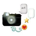 Retro Camera & Icons Dies - Sizzix