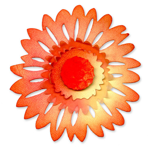 Daisy Flower Large Die - Sizzlits - Sizzix