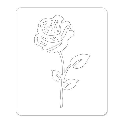 Rose Flower #2 Large Die - Sizzlits - Sizzix