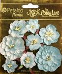 Robin Egg Blue Mixed Blossoms - Petaloo