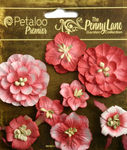 Antique Red Mixed Blossoms - Petaloo