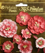 Antique Red Mixed Blossoms - Petaloo
