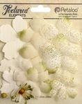 Ivory Mixed Textured Layers - Petaloo