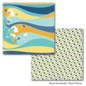 Beach Waves Paper - Beach Boardwalk - Carta Bella