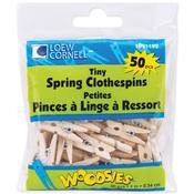 Natural Woodsies Tiny Spring Clothespins