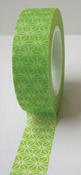 Lime Green Diamond Burst Washi Tape - Love My Tapes