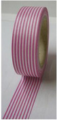 Mini Pink Stripe Washi Tape - Love My Tapes
