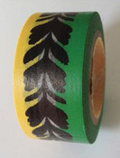Black Feather Chain Washi Tape - Love My Tapes
