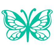 Butterfly 6 x 6 Template - KaiserCraft