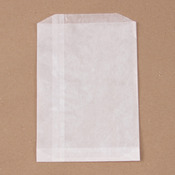 "Flat Glassine Paper Bag, 4 3/4"" x 6 5/8"" 10/pkg"