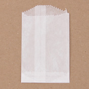 "Flat Glassine Paper Bag, 2"" x 3 1/2"" 15/pkg"