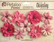Fuschia Medium Wild Blossoms - Petaloo