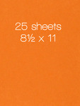 Circus Peanuts Card Shoppe Cardstock 8.5 x 11 - 25 Sheets - Bazzill