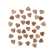 Tiny Hearts Laser Cut Veneer Shapes - Atlantic - Studio Calico