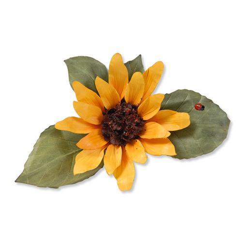 Sunflower Dies - Susans Garden - Sizzix
