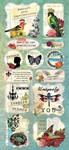 Le Jardin Cardstock Stickers