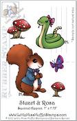 Stuart & Rosa - Little Miss Muffet Stamp
