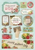 A Very Special Mom Cardstock Stickers - Karen Foster