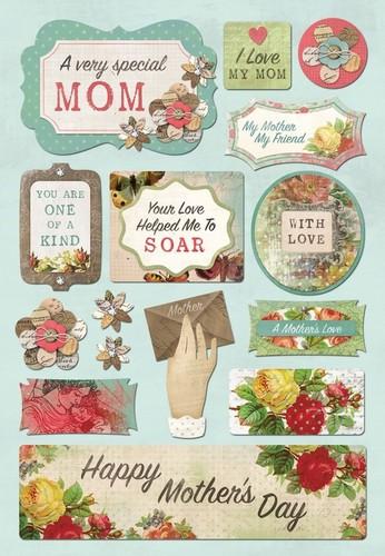 A Very Special Mom Cardstock Stickers - Karen Foster
