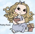 Pretty Posie Rubber Stamp - Little Darlings