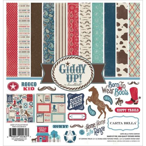 Giddy Up Boy Collection Pack - Carta Bella