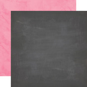 Chalkboard-Light Pink Paper - Here & Now - Echo Park