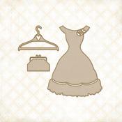 Charlotte's Dress Set - Blue Fern Studios