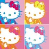 Hello Kitty 4 Square Sticker