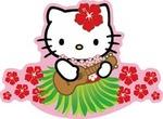Hello Kitty Ukelele Sticker