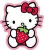 Hello Kitty Strawberry Sweet Sticker